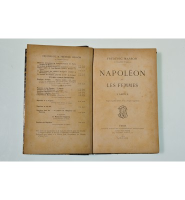 Napoleon et les femmes l' amour