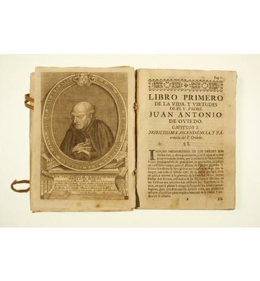 Vida exemplar y virtudes heroicas del venerable padre Juan Antonio...