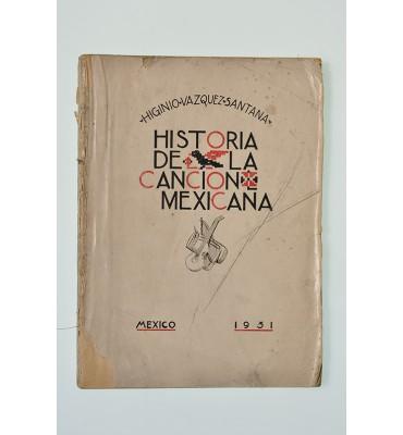 Historia de la cancion mexicana