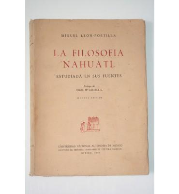 La filosofía Náhuatl