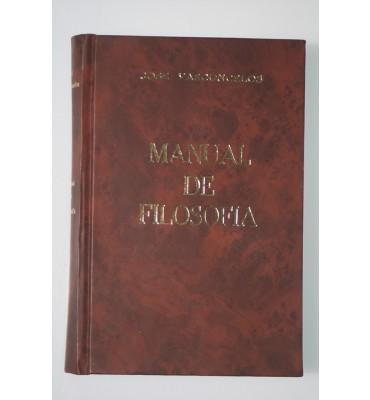 Manual de filosofía