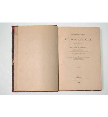 Leyes constitucionales de México durante el siglo XIX *