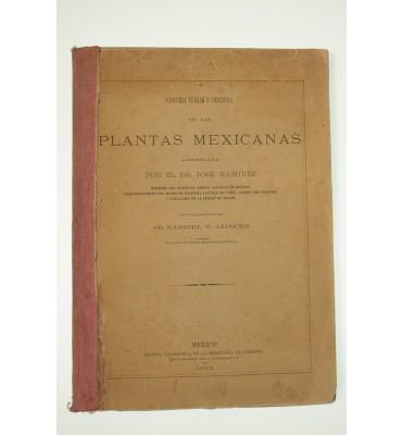 Sinonimia vulgar y científica de las plantas mexicanas *