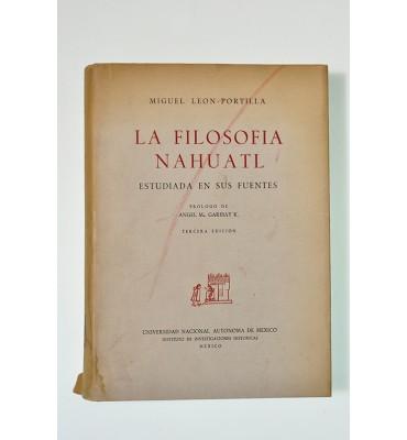 La filosofía Náhuatl (ABAJO CH) *