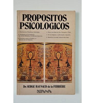 Propósitos psicológicos