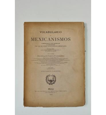 Vocabulario de mexicanismos