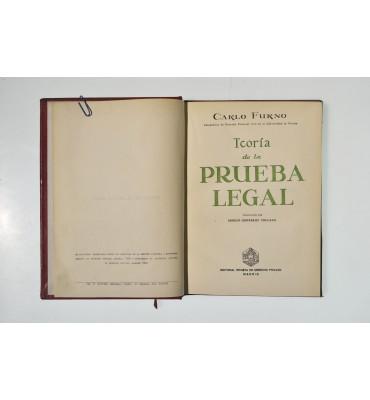 Teoría de la prueba legal