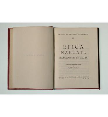 Épica náhuatl