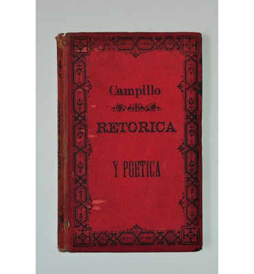 Retórica y poética o Literatura Preceptiva