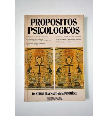 Propósitos psicológicos I al VI