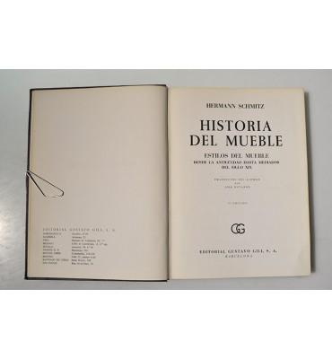 Historia del mueble, estilos del mueble desde la antigüedad hasta mediados del siglo XIX