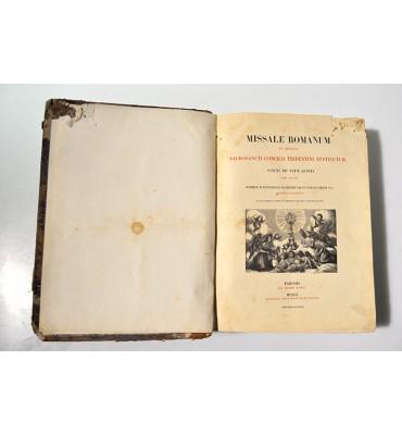 Missale romanum ex decreto Sacrosancti Concilii Tridentini Restitutm...