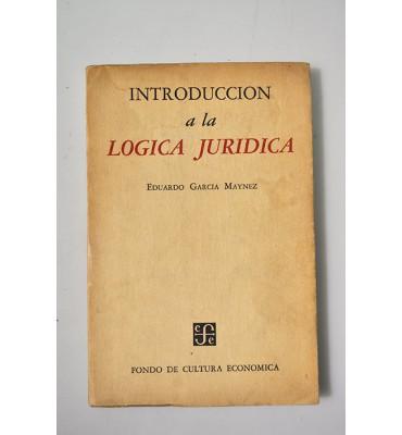 Introducción a la lógica jurídica