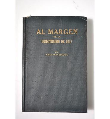 Al margen de la Constitución de 1917