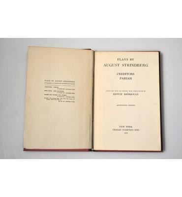 Plays by August Strindberg. Creditors Pariah