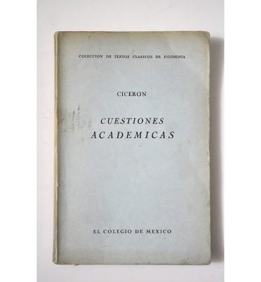 Cuestiones académicas