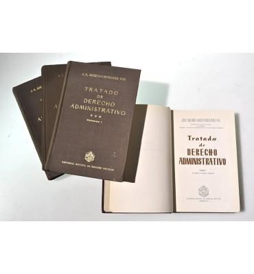 Tratado de derecho administratiivo *