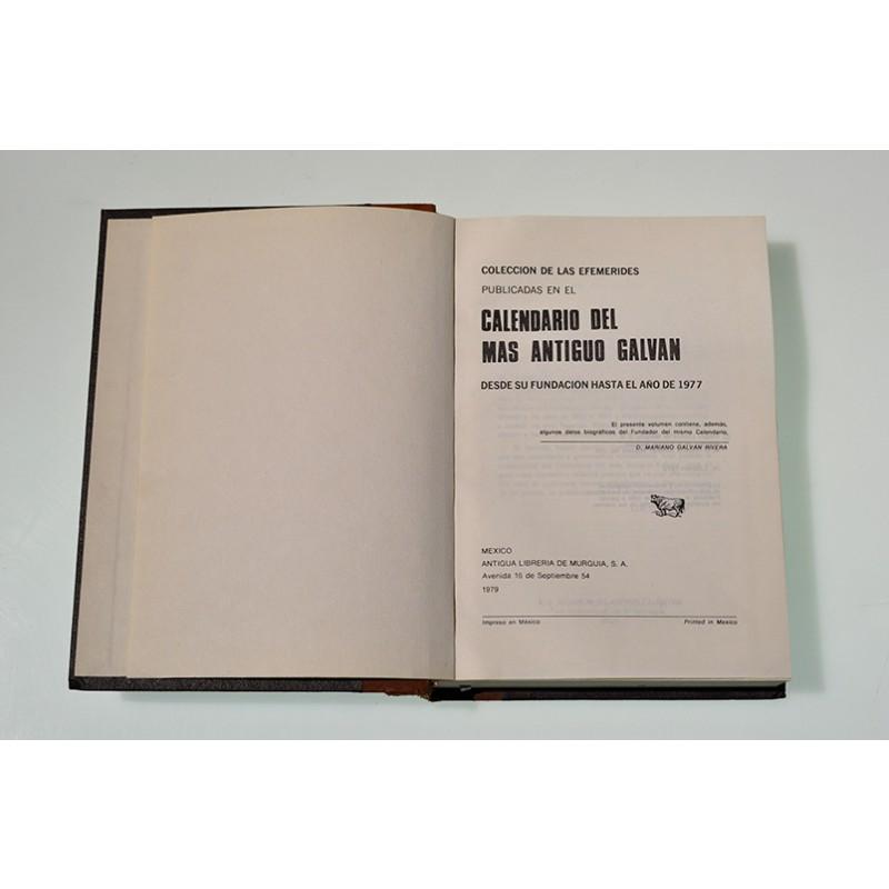 Calendario Del 1977.Coleccion De Las Efemerides Publicadas En El Calendario Del