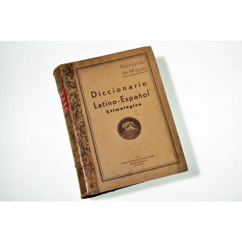 Nuevo diccionario latino-español etimológico