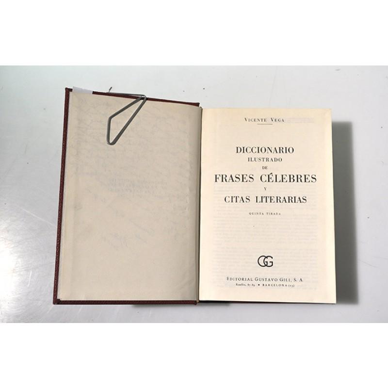 Diccionario Ilustrado De Frases Célebres Y Citas Literarias