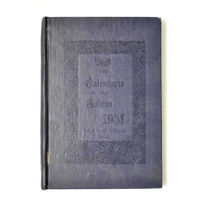 Calendario 1951.125 Calendario De Mariano Galvan Rivera Para El Ano De 1951