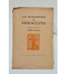 Los fragmentos de Heraclito
