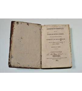 Instrucción reservada que el conde de Revillagigedo dio a su sucesor en el mando, Marqués de Branciforte sobre el gobierno de este continente en el tiempo que fue su virrey.