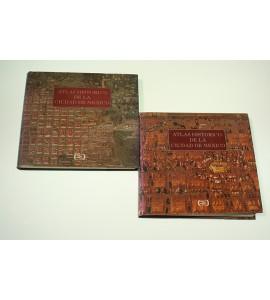 Atlas Histórico de la Ciudad de México. 2 Tomos.*