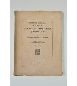 Descripción geográfica de los reinos de Nueva Galicia, Nueva Vizcaya y Nuevo León