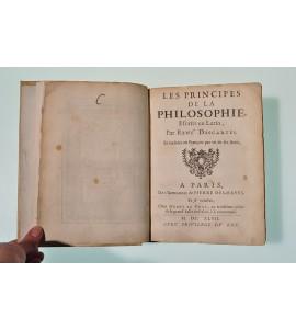 Les principes de la philosophie escrits en latin