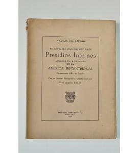 Relación del viaje que hizo a los presidios internos situados en la frontera de la América Septentrional