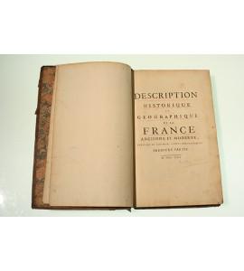 Description historique et geographique de la France