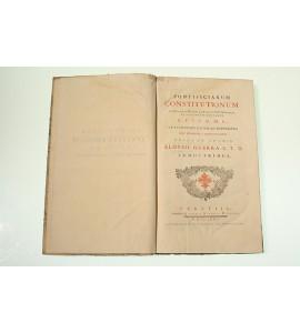 Pontificiarum constitutionum in Bullariis Magno, et Romano contentarum