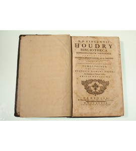 R.P. Vincentii Houdry  Bibliotheca Concionatorum Theologica. Tomo I-V