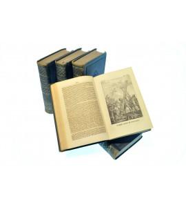 Historia de la Iglesia desde su Fundación hasta el Pontificado de Gregorio XVI. 5 Tomos.