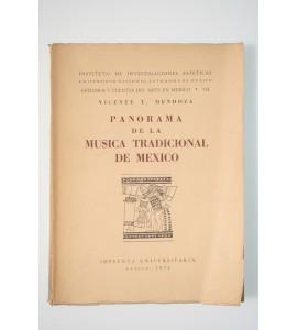 Panorama de la música tradicional de México*