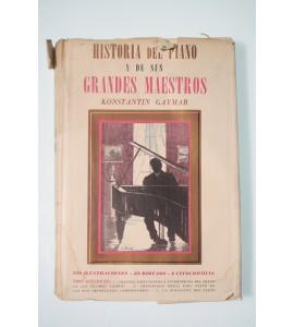 Historia del piano y de sus grandes maestros
