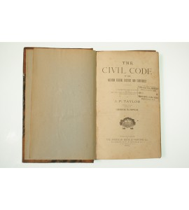 The civil code of the mexican federal district and territories
