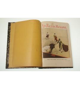 La Fiesta Nacional: Semanario Taurino Ilustrado- 1908