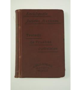 Tratado de pruebas judiciales en materia civil y en materia penal conforme a la legislación vigente en el Distrito Federal y en el Estado de Veracruz *