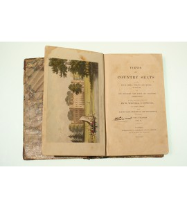 Views of country seats of the Royal Family, nobility and gentry of England in one hundred and forty-six coloured engravings