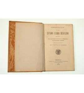 Constitución de los Estados Unidos Mexicanos expedida por el Congreso General Constituyente el día 5 de febrero de 1857 con sus adiciones y reformas