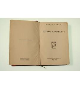 Poesías completas de Amado Nervo*