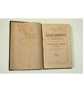 Coleccion de los decretos espedidos por los Congresos Constituyente y Constitucional y por el Ejecutivo del Estado Libre y Soberano de México.