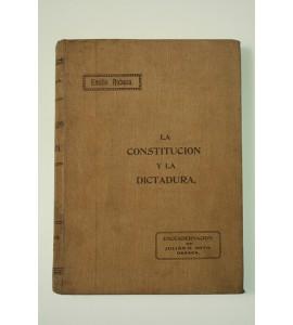La Constitución y la Dictadura *