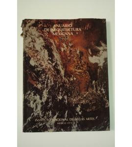 Anuario de arquitectura mexicana 1977