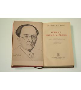 Obras. Poesías y prosa de Antonio Machado*