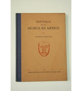 Historia de la música en México **