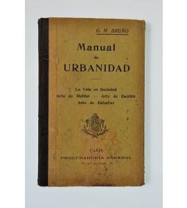 Manual de urbanidad