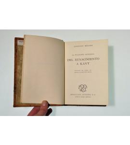 La filosofía moderna. Del renacimiento a Kant